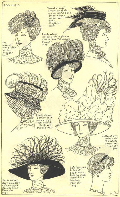 chapeau 1910