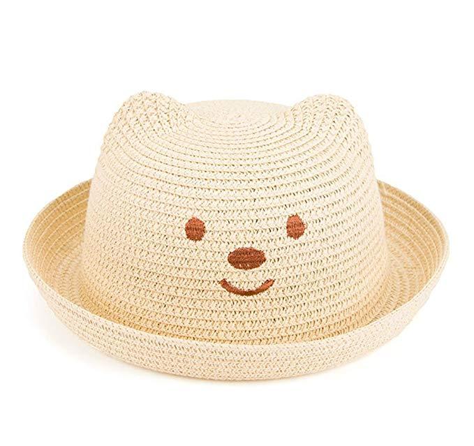 chapeau de paille bebe garcon