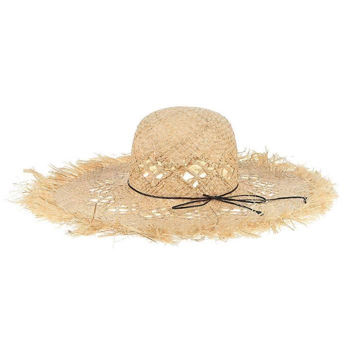 chapeau de paille jardinier pas cher