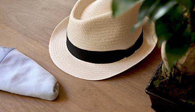 chapeau de paille panama
