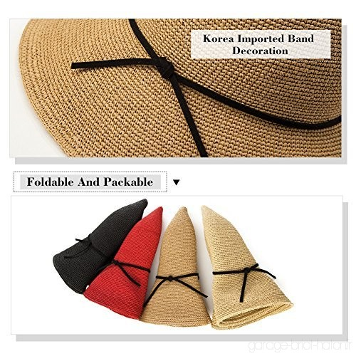 nouvelles promotions dernière sélection officiel de vente chaude chapeau de paille pliable - Le specialiste des chapeaux