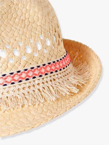 chapeau de paille vertbaudet