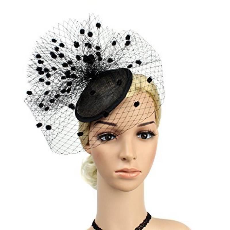 chapeau femme avec voilette