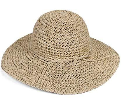 chapeau femme en paille
