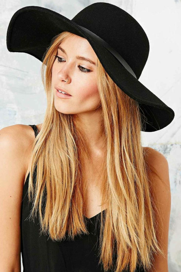 chapeau femme moderne