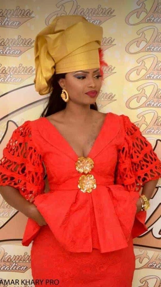 chapeau femme senegalaise