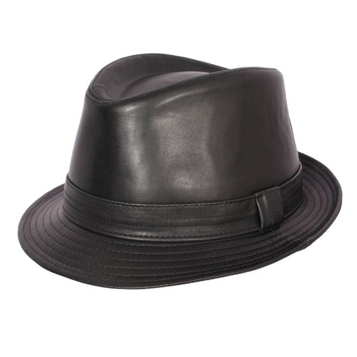 meilleur en ligne nouvelle arrivee vente chaude réel chapeau homme cuir - Le specialiste des chapeaux
