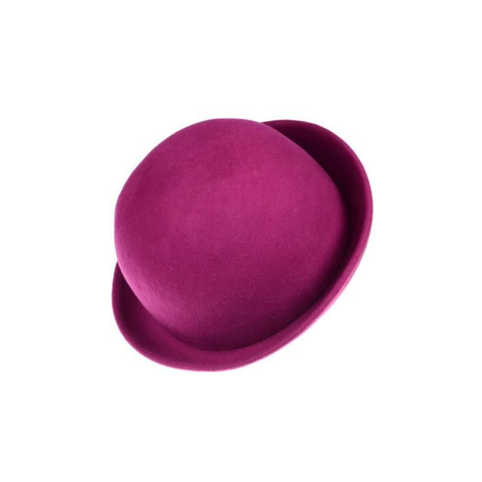 chapeau homme rose