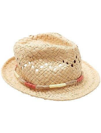 la meilleure attitude 3659f 5c0f5 chapeau panama femme kiabi - Le specialiste des chapeaux