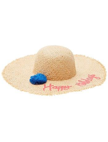 chapeau panama kiabi