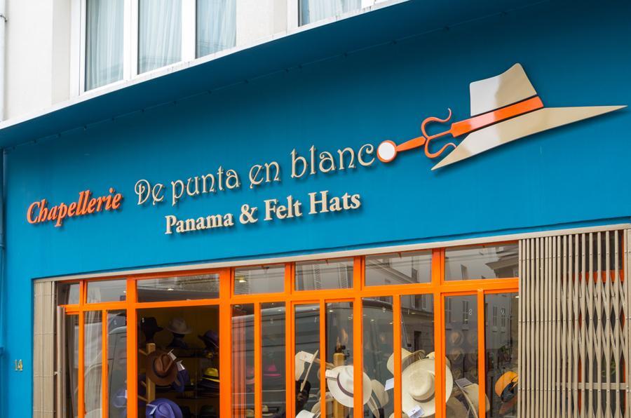 chapeau panama rue saint blaise