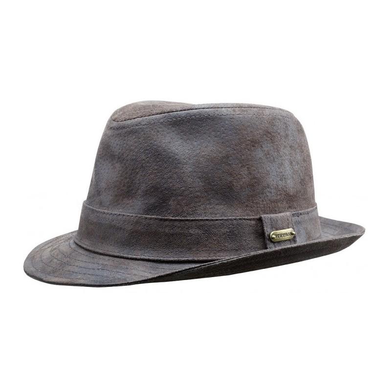 chaussures authentiques original 60% pas cher chapeau stetson cuir - Le specialiste des chapeaux