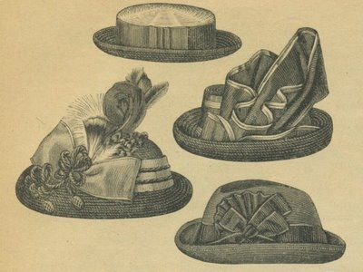 chapeau xixeme siecle